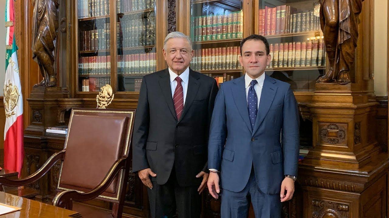 En Palacio Nacional el presidente López Obrador nombra a Arturo Herrera Gutiérrez como nuevo titular de la SHCP