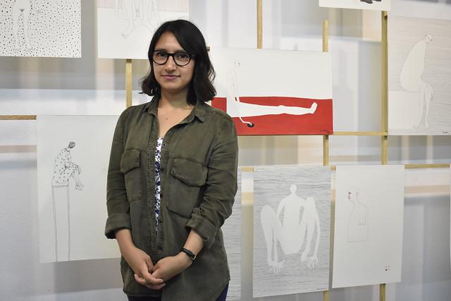 La artista Oriana Lendechy muestra La incertidumbre de los días en la Galería en Movimiento del CCOY
