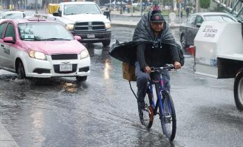 Activa SGIRPC Alerta Amarilla en 11 Alcaldías de la Capital por lluvia, granizo y rachas de viento