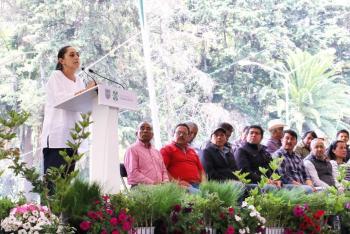 Gobierno capitalino otorga recursos para preservación de suelos de conservación en Xochimilco