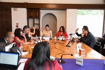 Se lleva a cabo la rotación de la presidencia de la Comisión Permanente de Igualdad de Género y Derechos Humanos
