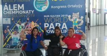 Busca Amalia Pérez refrendar cetro en el Campeonato Mundial de Para Powerlifting Kazajistán 2019
