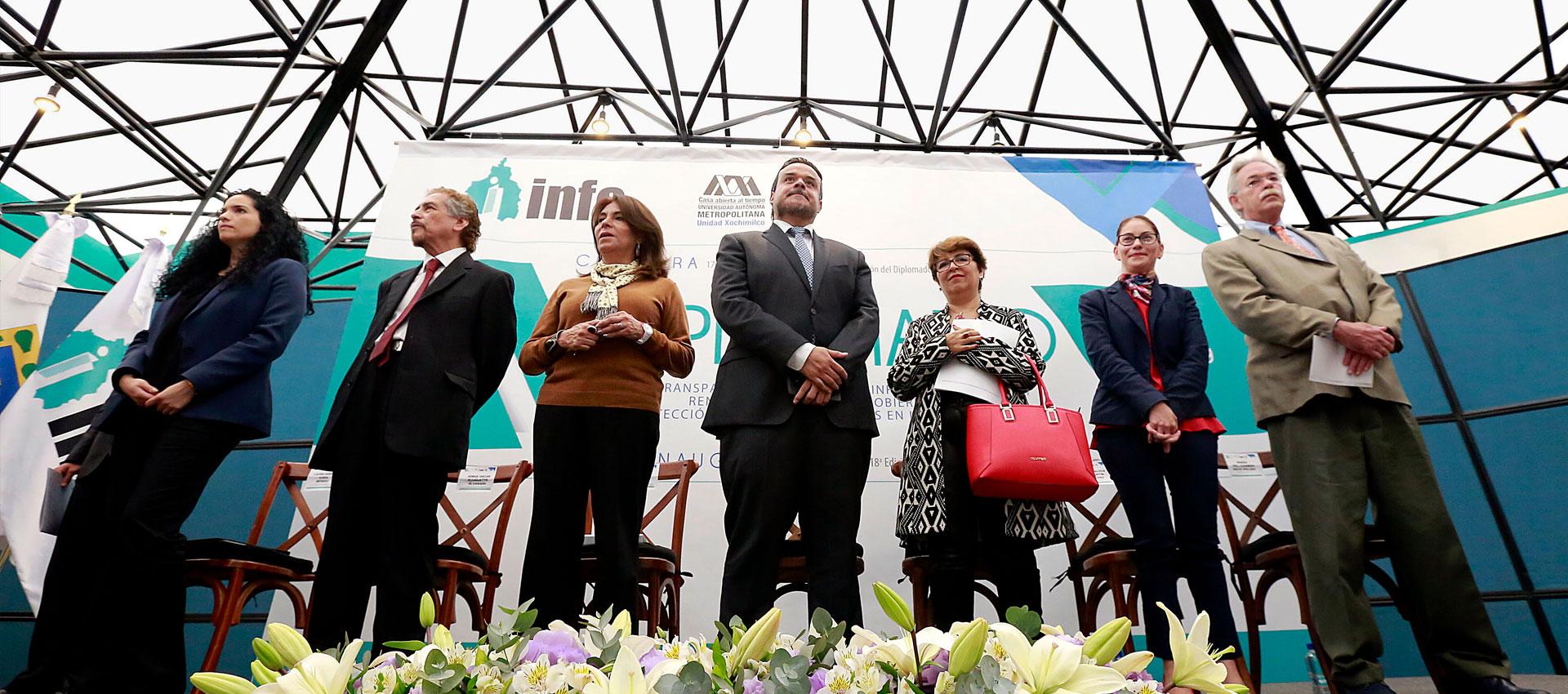 El INFO y la UAM Xochimilco dan continuidad al Diplomado sobre Transparencia y Protección de Datos Personales