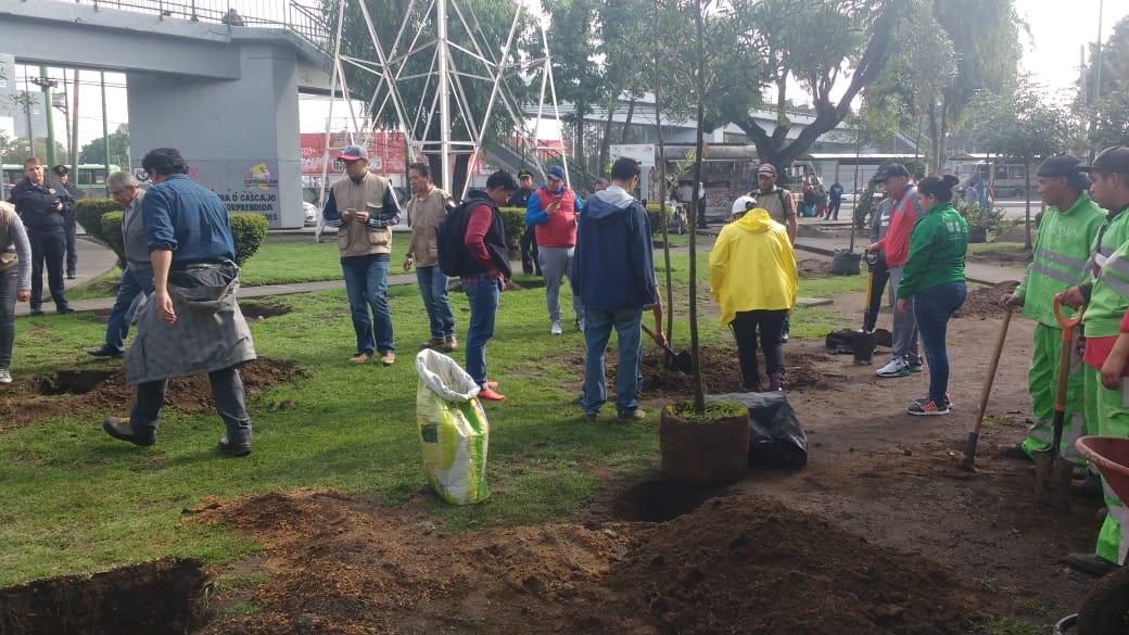 La alcaldía de Coyoacán se sumó a una jornada más del Reto Verde