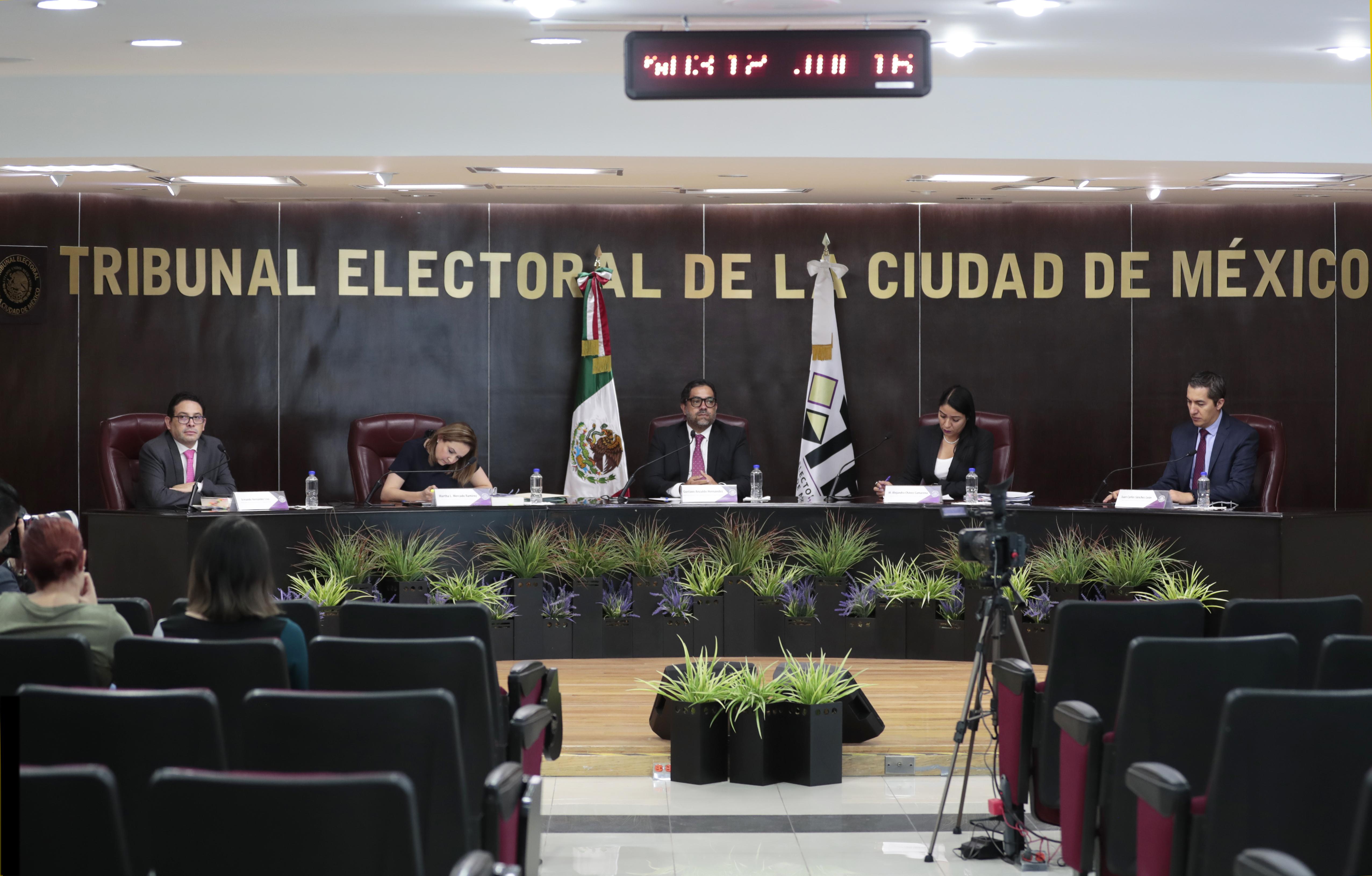 Confirma TECDMX resolución de la Comisión de Honestidad y Justicia del Partido MORENA sobre supuesta doble militancia de integrantes