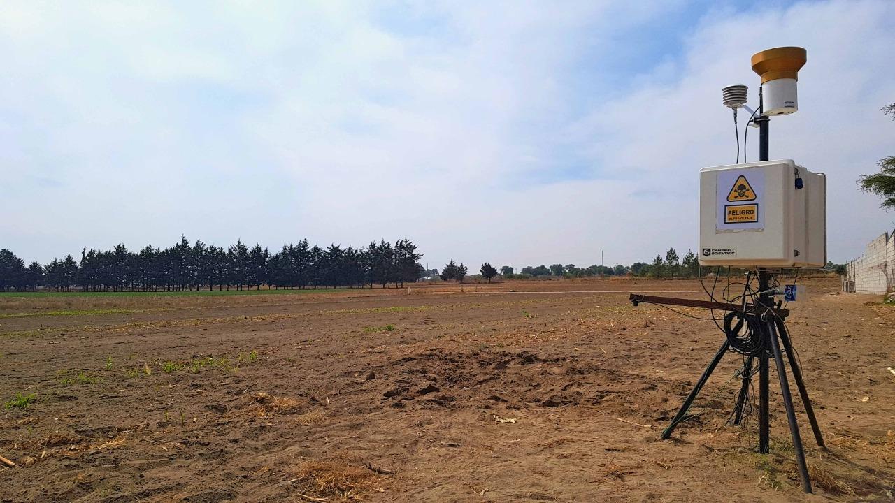 Monitorea IPN campos de cultivo para validar datos Satelitales