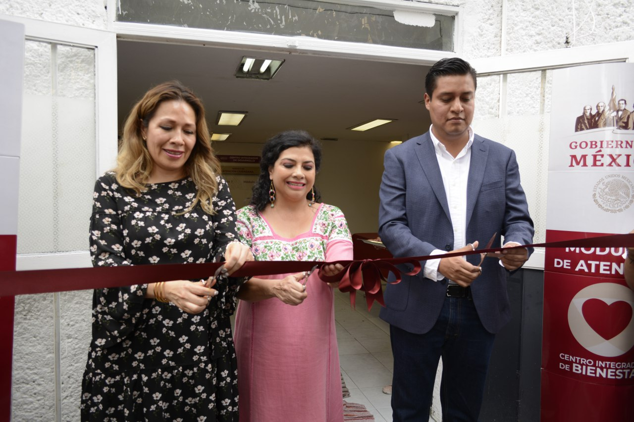 Inauguran nuevo Centro Integrador de Programas Sociales del Gobierno Federal en la sede de la Alcaldía Iztapalapa
