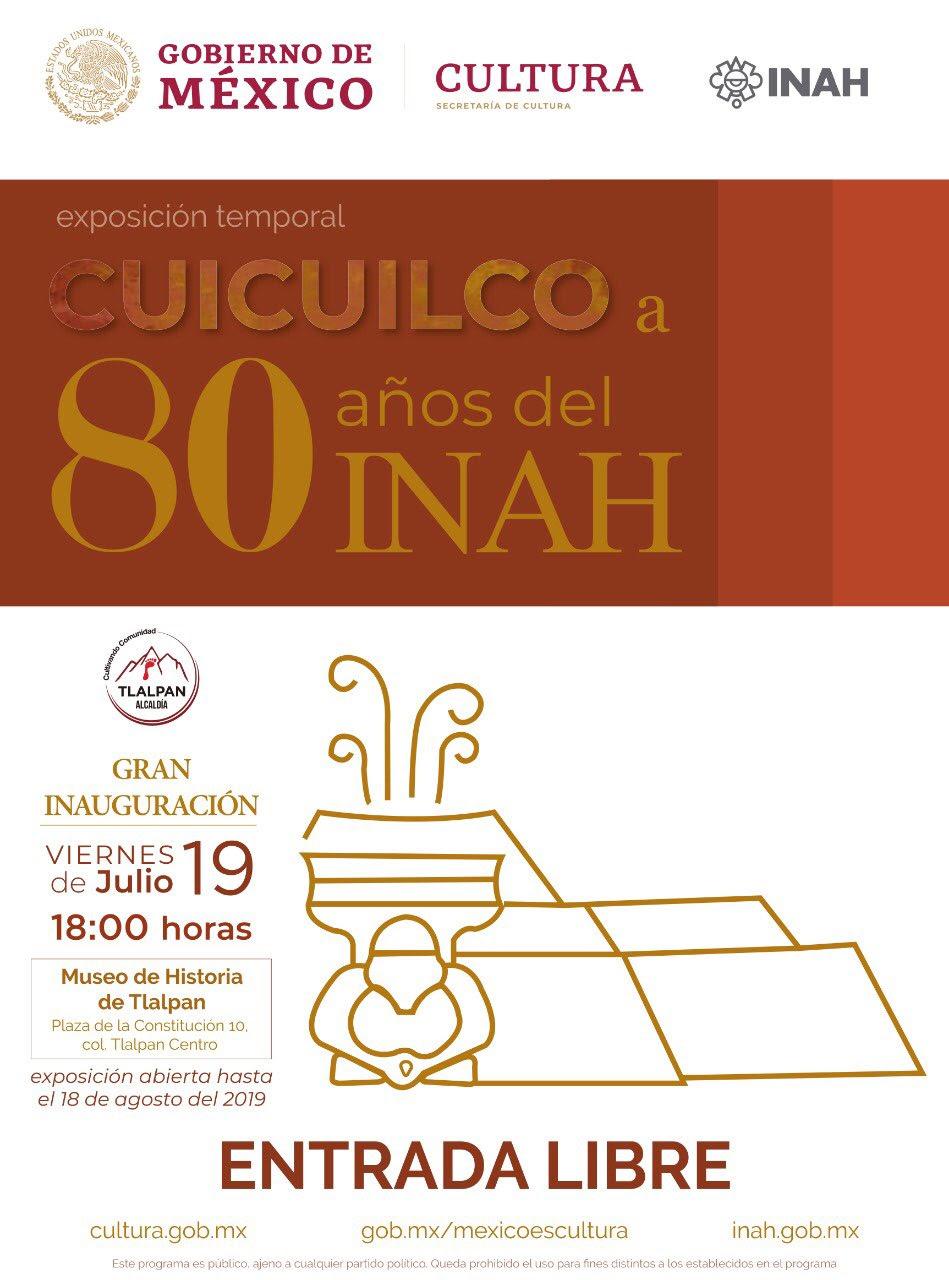 Tlalpan recibirá piezas arqueológicas originales del INAH