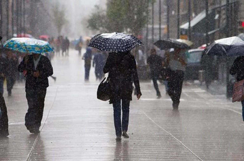 Se prevén lluvias fuertes al Norte, Poniente y Sur de la Capital