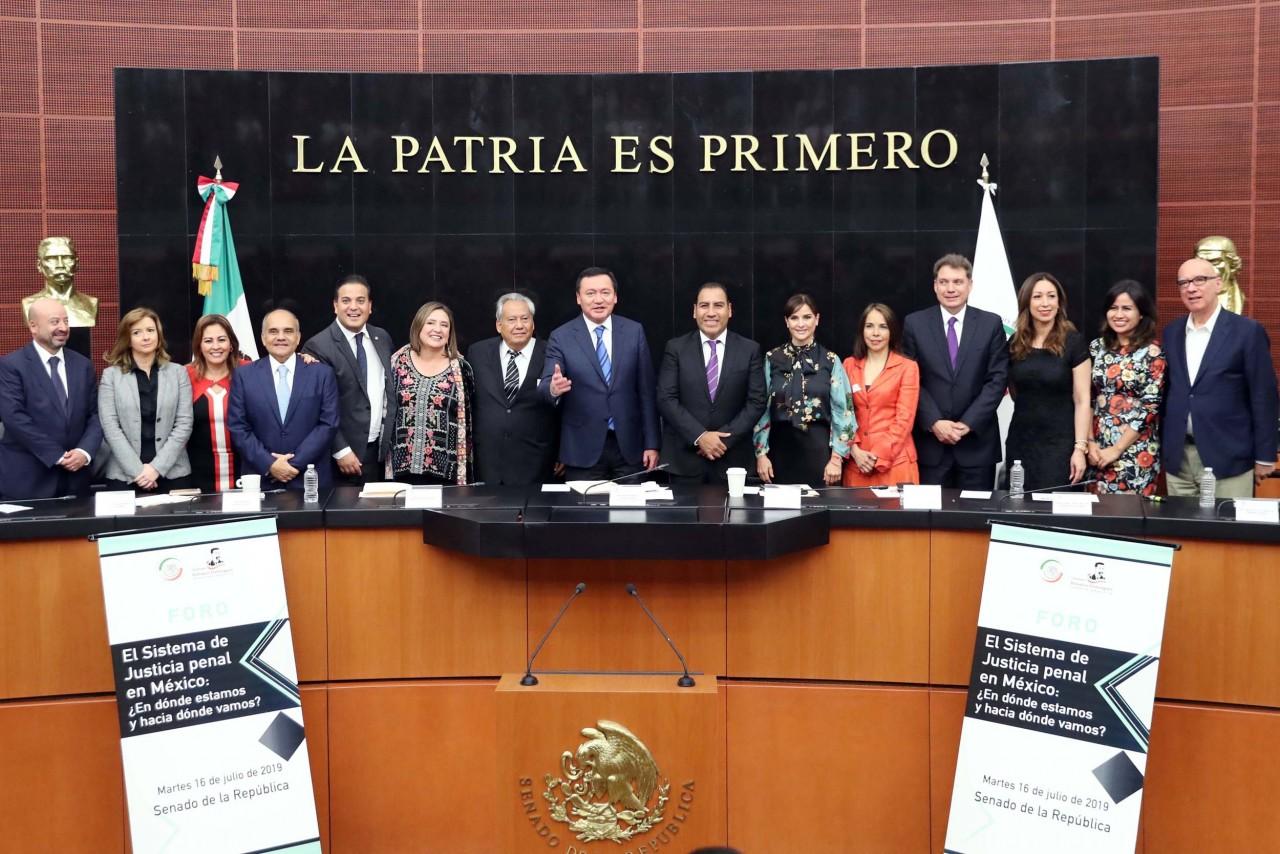 Reconocen avances y carencias del Sistema de Justicia Penal en México