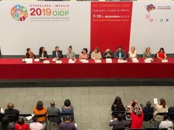 Será Iztapalapa Sede a la 19 Conferencia Anual de la OIDP; Asistirán Personalidades de más de Mil Ciudades del Mundo: Clara Brugada