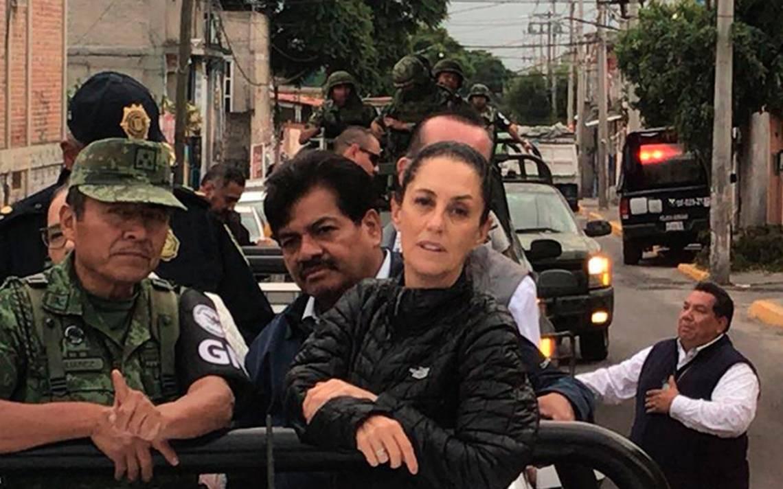 Cuautepec Barrio Alto es la primera Colonia de GAM que recorre Guardia Nacional
