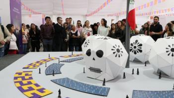 Invita Jefa de Gobierno a participar en la consulta popular para elegir Ofrenda Monumental de Día de Muertos 2019