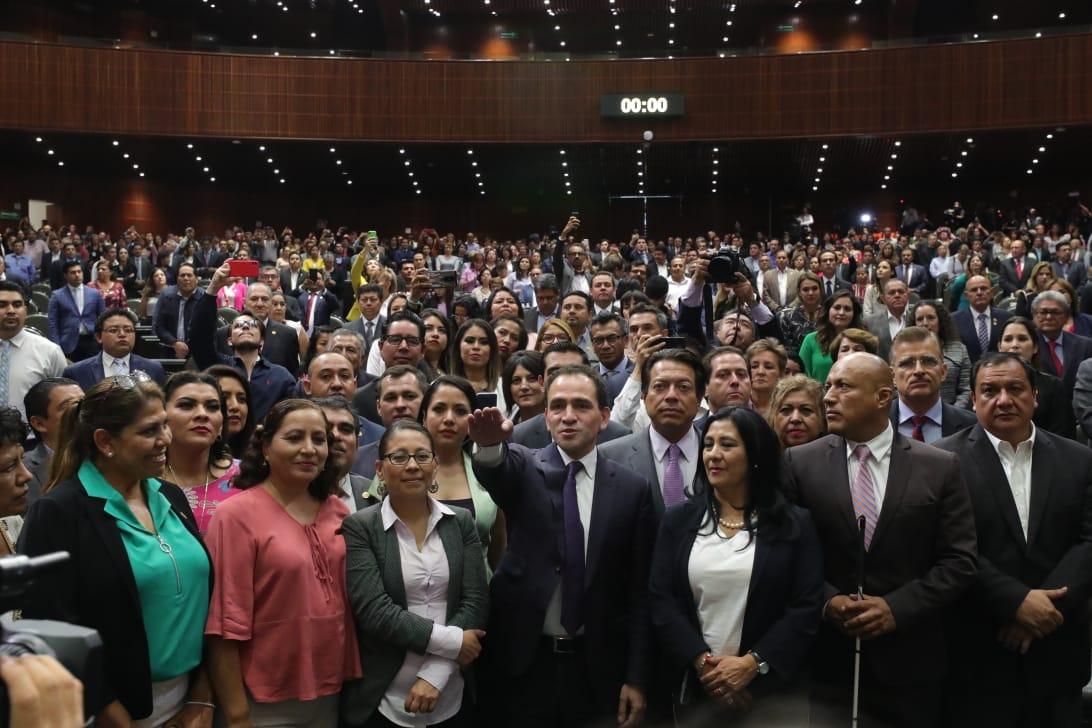 Ratifican y rinde protesta como titular de la SHCP, Arturo Herrera Gutiérrez