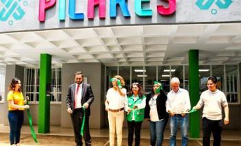 Se inauguran dos PILARES en Azcapotzalco