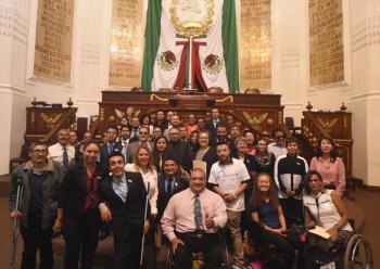 El Parlamento para Personas con Discapacidad organizado por el Congreso de la Ciudad