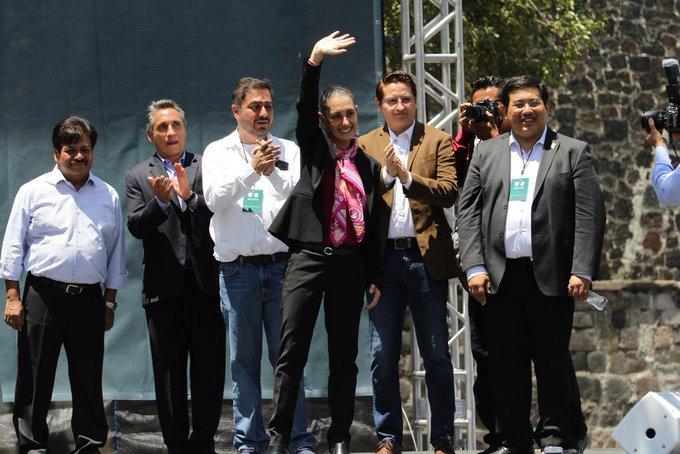 El alcalde Manuel Negrete Arias refrendó el compromiso de trabajar en conjunto con el Gobierno de la CDMX