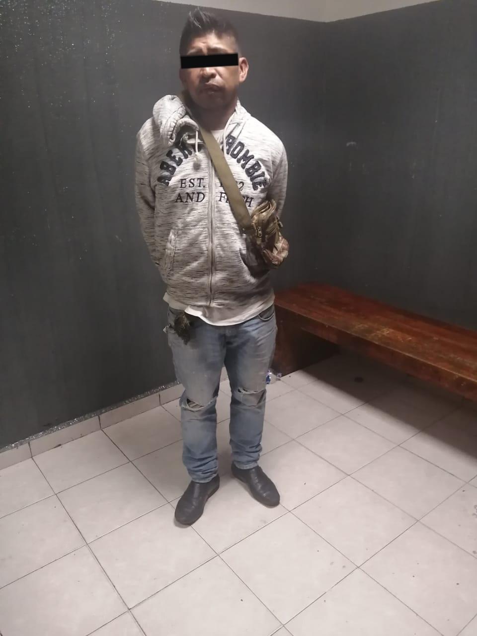 Policías de la SSC detienen a presunto responsable de robo a transeúnte en la Colonia Doctores