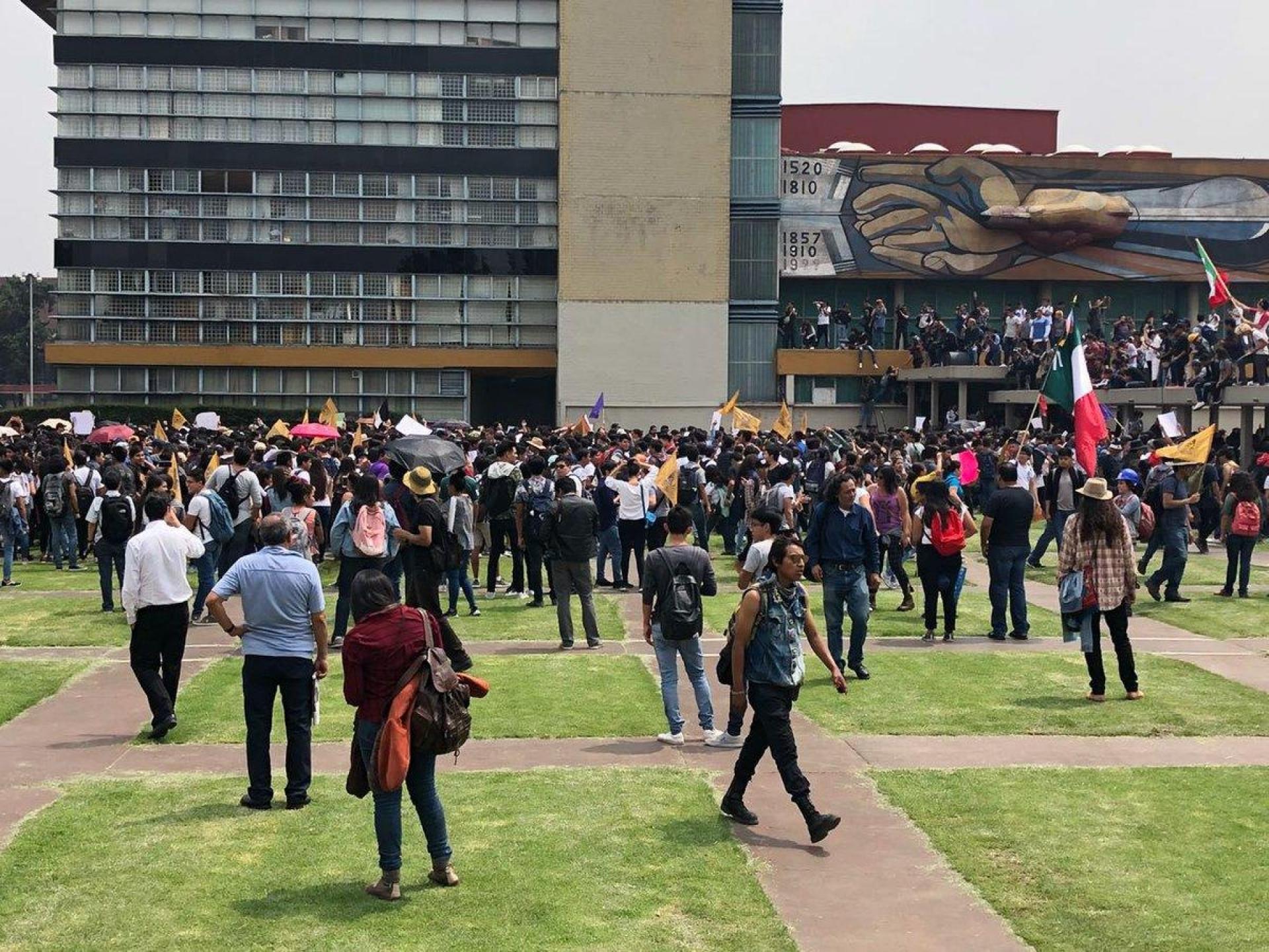 Reanuda actividades la UNAM