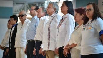 Más de 15 mil personas ya reciben apoyos del gobierno federal en Chicontepec, informa presidente López Obrador