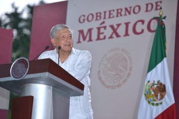 Presidente López Obrador anuncia ampliación de carretera Ciudad Valles Tamazunchale