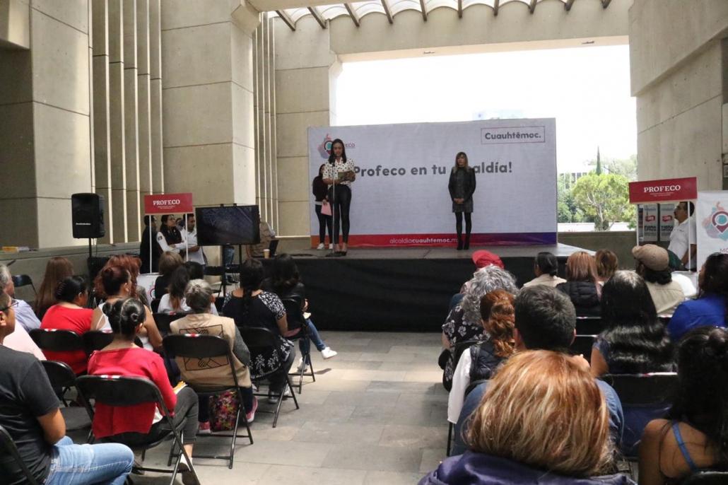 Para proteger derechos de consumidores, inauguran en Cuauhtémoc, Profeco en tu Alcaldía