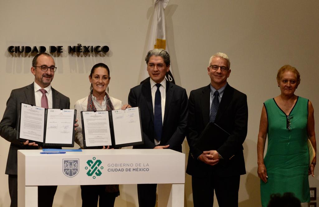 Firman gobierno capitalino y Corporación Financiera Internacional memorando de entendimiento en materia sustentable