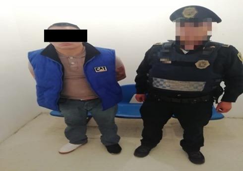 SSC aprehende en flagrancia a un presunto responsable de robo a Farmacia en Tlalpan