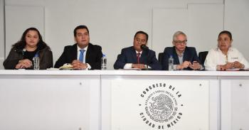 Presentan proyecto de reformas al Código Penal contribuyendo a combatir la alta incidencia delictiva en la CDMX