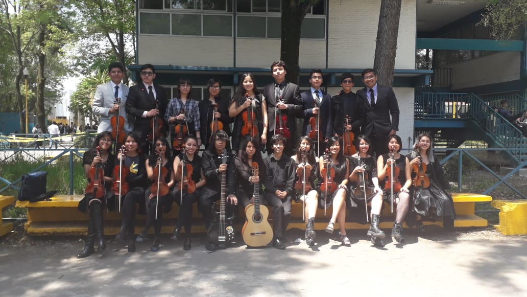 Ofrecerá Concierto de Gala el Grupo de Violines del CCH Oriente en Auditorio de la Alcaldía Iztapalapa