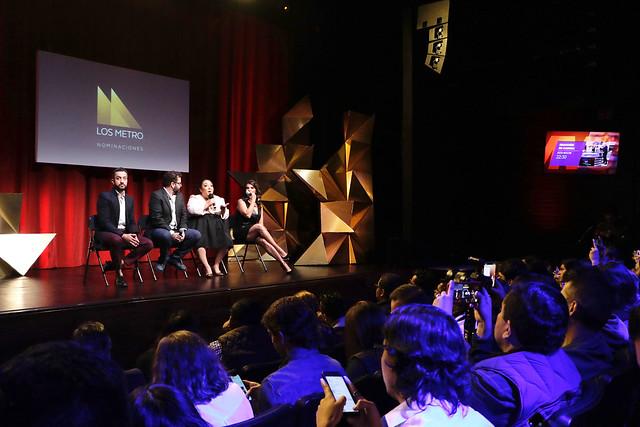 Los Metro anuncian nominados al Premio Escénica Ciudad de México