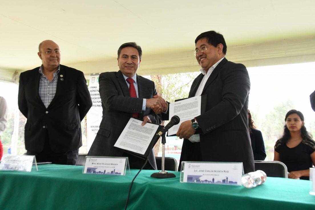 Fomentarán IECM y Alcaldía de Xochimilco participación ciudadana y cultura cívica