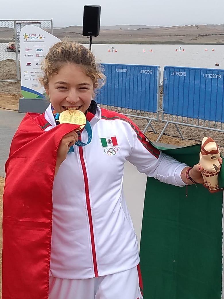 Aporta Beatriz Briones el noveno oro a México en Lima 2019