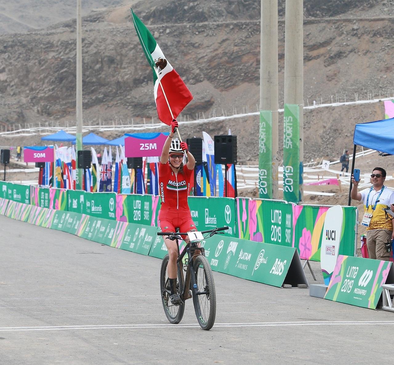 Conquista Daniela Campuzano la montaña en Juegos Panamericanos