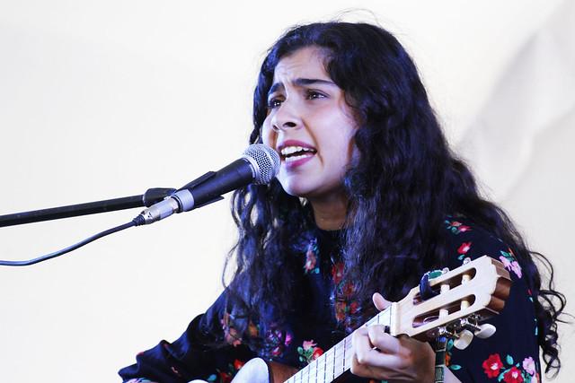 Cantares unió voces y percusiones en el Parque Hidalgo de Coyoacán