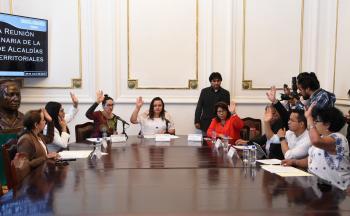 Anuncian la realización de foros para determinar los límites territoriales y la división política y administrativa de las alcaldías