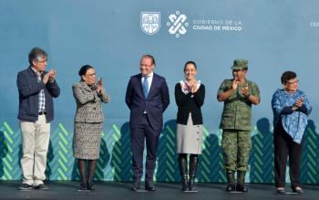 Entrega Gobierno de la CDMX 90 Nuevas Patrullas en Benito Juárez