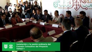 Instala Jefa de Gobierno la primera sesión ordinaria del consejo consultivo del proyecto Vallejo-I