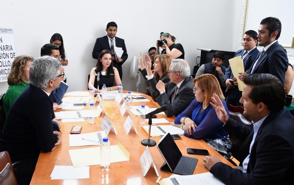 Aprueba Comisión propuesta de integración del Consejo Económico Social y Ambiental de la CDMX
