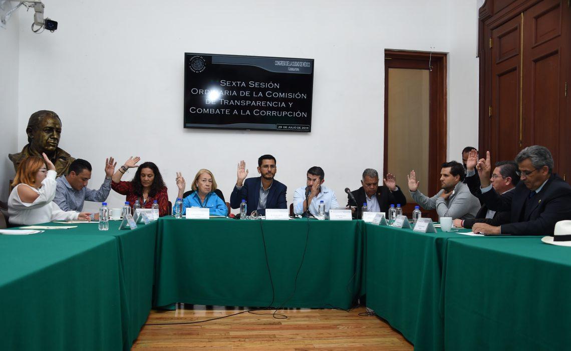 Aprueban a integrantes de la Comisión de Selección que elegirá al Comité de Participación Ciudadana del Sistema Anticorrupción local