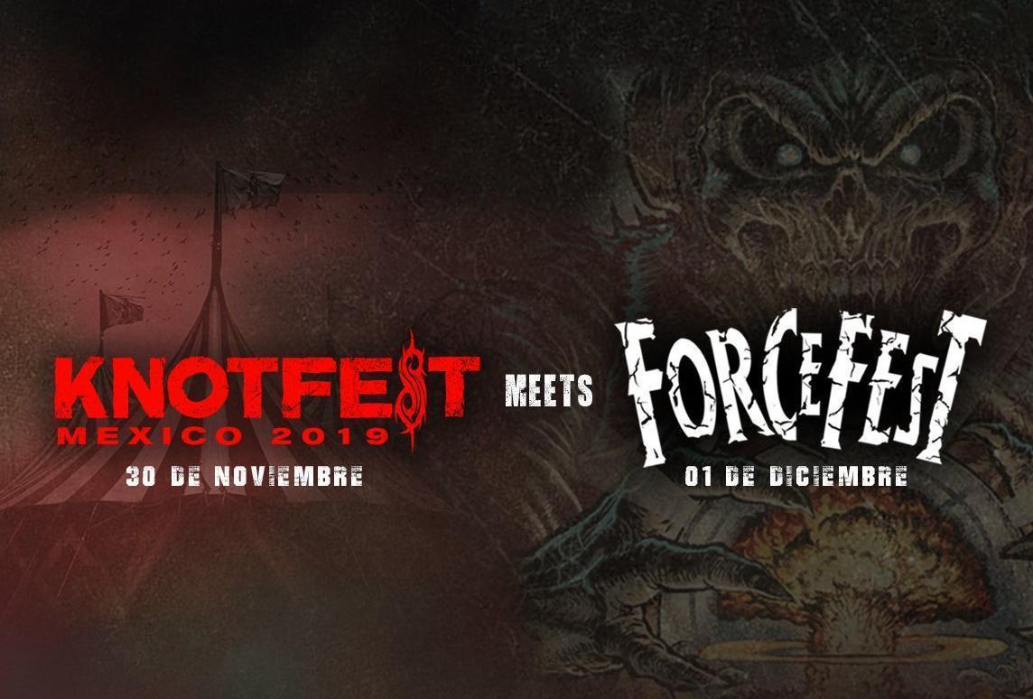 Knot Fest Meets Force Fest anuncia la segunda fase de su LINE UP