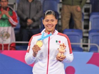 Broche de oro para Briseida Acosta en el taekwondo de Lima 2019