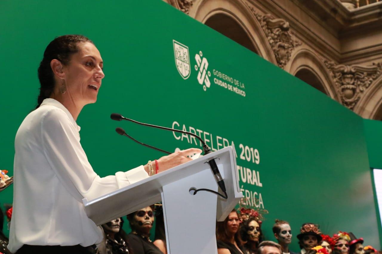 Presenta Gobierno CDMX la cartelera 2019