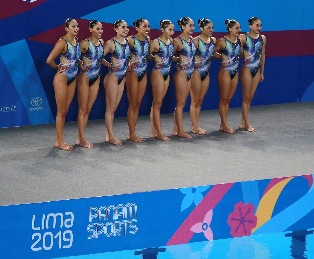 Sirenas se bañan de plata en Juegos Panamericanos Lima 2019