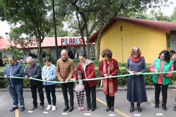 Inaugura Gobierno de la CDMX los nuevos PILARES Ecoguardas y Tizimín en Tlalpan