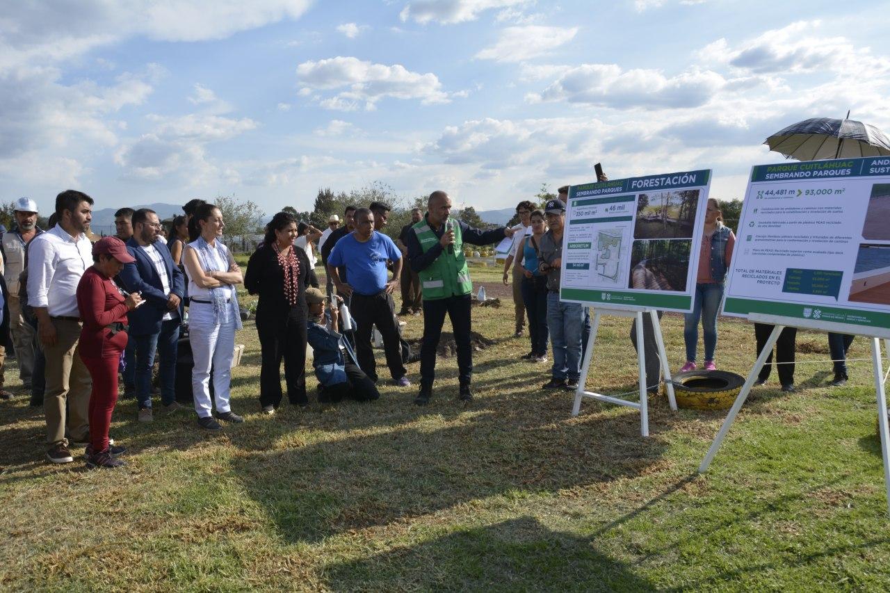 Presentan Clara Brugada y Claudia Sheinbaum Proyecto de Transformación del Parque Cuitláhuac