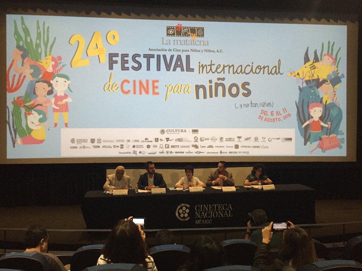 Con lo mejor del cine, Filmoteca UNAM, una de las sedes principales, exhibirá el 24 Festival Internacional de Cine para niños y no tan niños