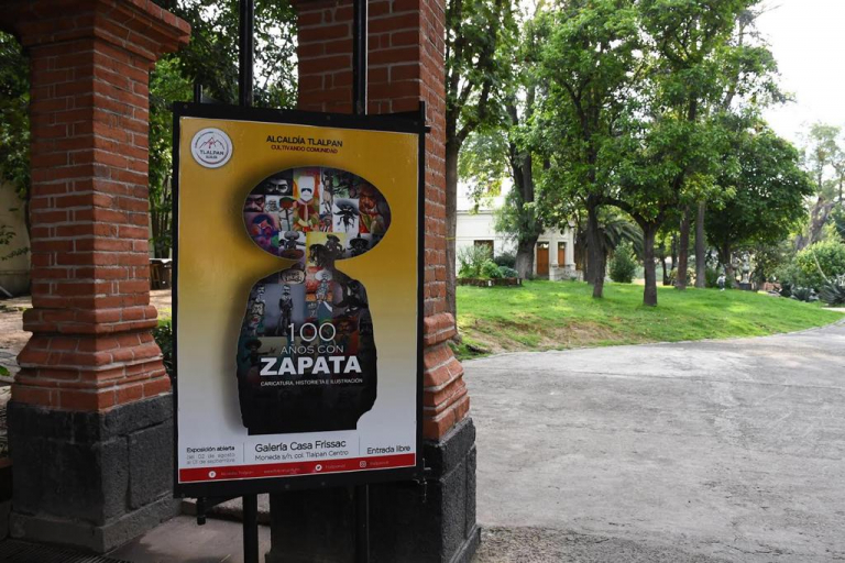 Tlalpan celebra 100 años de Zapata