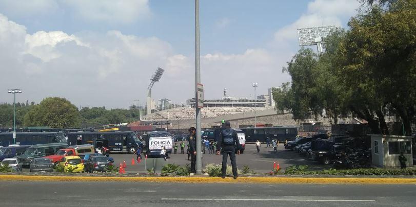 Sin incidentes concluyó el dispositivo Estadio Seguro por encuentro de Fútbol entre Pumas y Tigres
