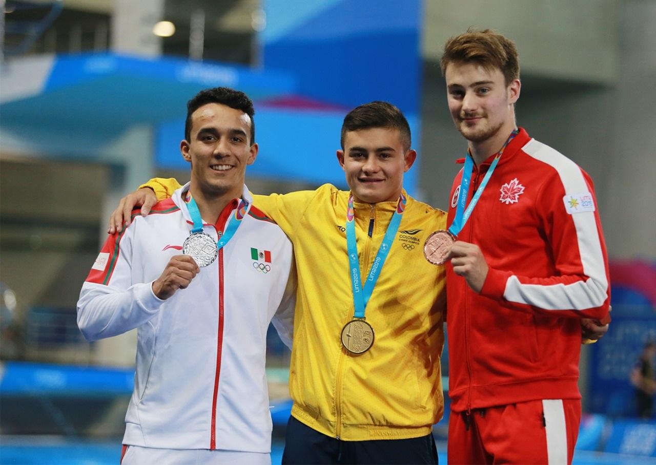 Juan Celaya y la dupla Orozco-Agúndez consiguieron preseas plateadas en los Juegos Panamericanos